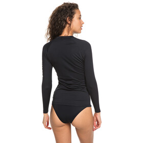 Roxy Whole Hearted Pitkähihainen Rash guard Naiset, anthracite